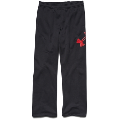 Boys Youth UA Storm Armour Fleece Big Logo Pants