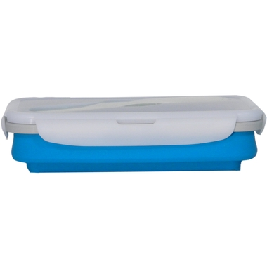 Collapsible Silicone Single Compartment Lunchbox