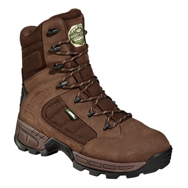 Men`s 8` Gunner Maxi Brown Insulated Hunting Boots