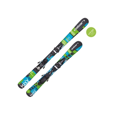 Boy's Youth Maxx QT / EL 7.5 AC QT Ski and Binding System