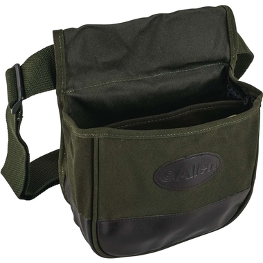Double Compartment Heavy Canvas Shooters Bag