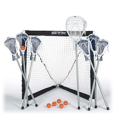 FiddleSTX 7 Stick Lacrosse Game Set