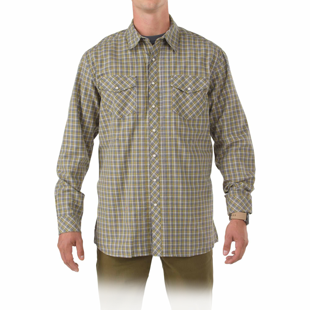 511 tactical men s long sleeve flannel shirt for Mens long sleeve flannel shirts