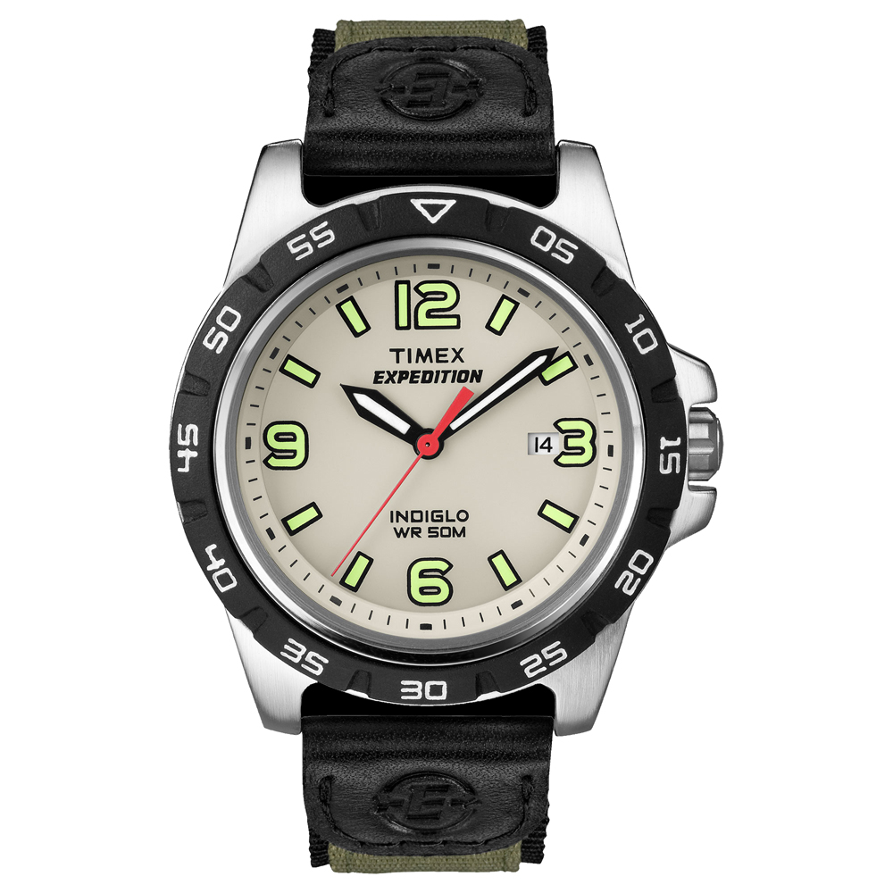 timex s expedition rugged metal analog