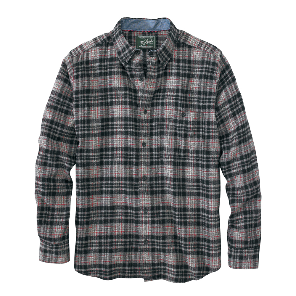 Woolrich men 39 s trout run flannel shirt for How to wear men s flannel shirts