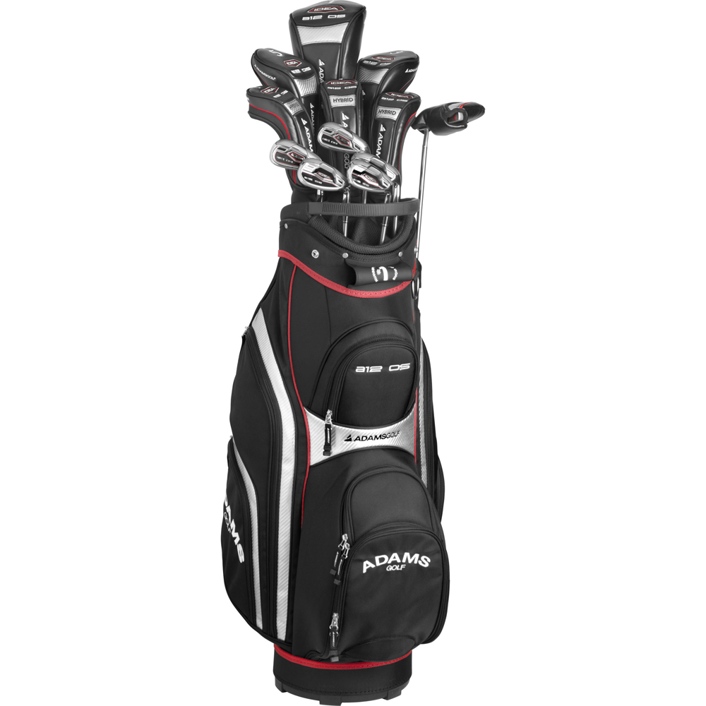 adams golf men s a12os 12 piece complete golf set. Black Bedroom Furniture Sets. Home Design Ideas