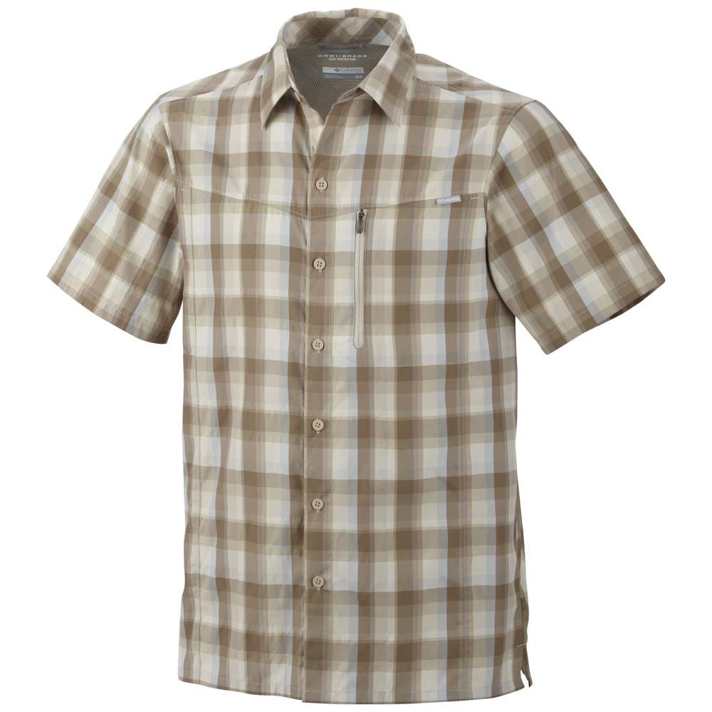 Columbia mens silver ridge plaid short sleeve shirt Short sleeve plaid shirts