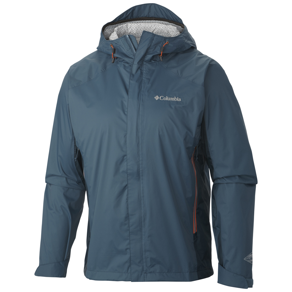 Columbia men s rainstormer technical rain jacket for Mens fishing rain gear