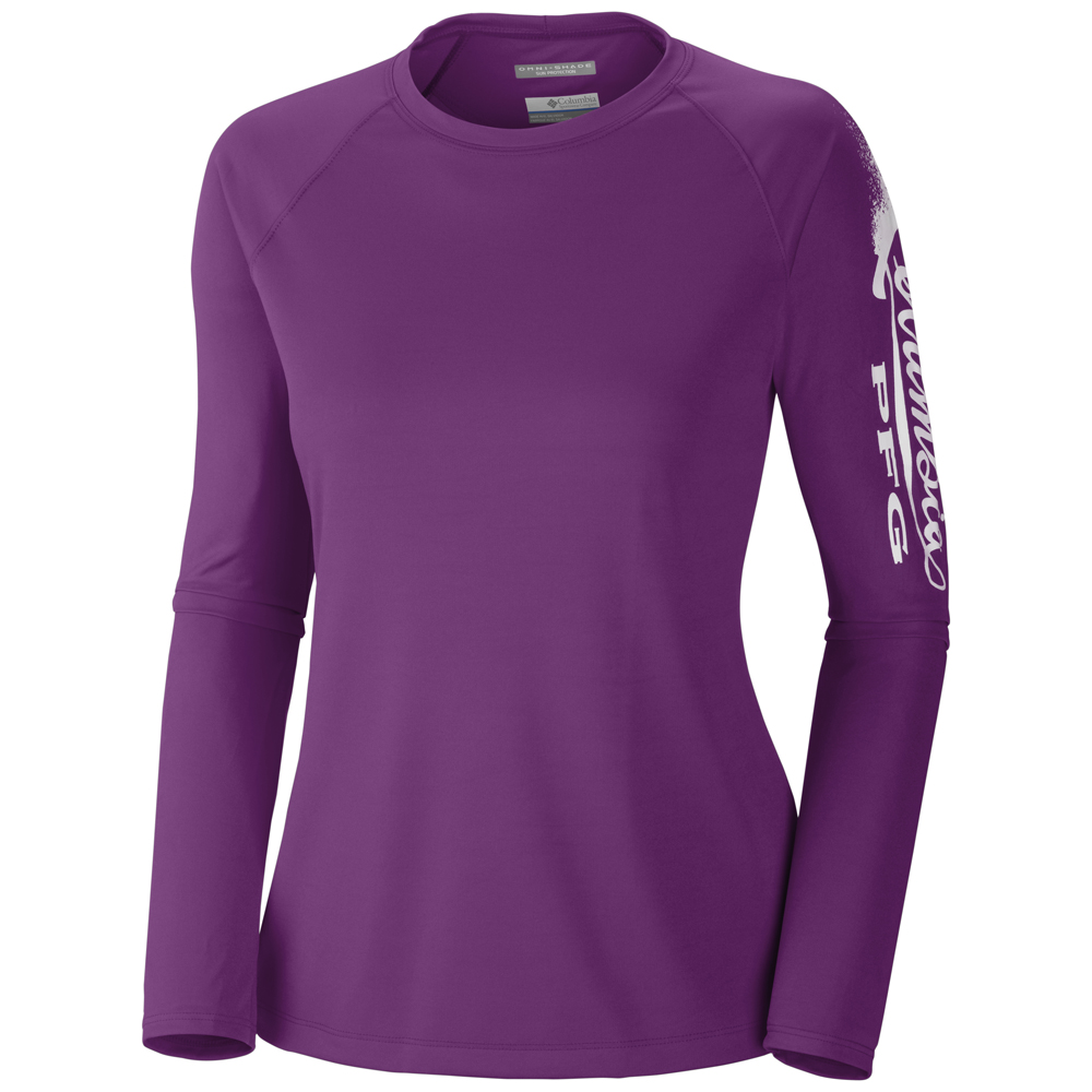 Columbia women s tidal tee long sleeve shirt Columbia womens fishing shirt