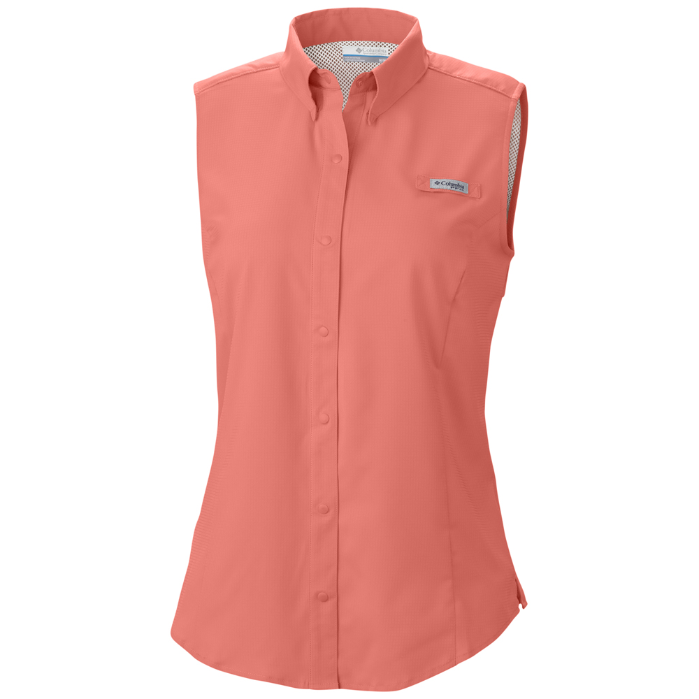 Columbia women s tamiami sleeveless shirt Columbia womens fishing shirt