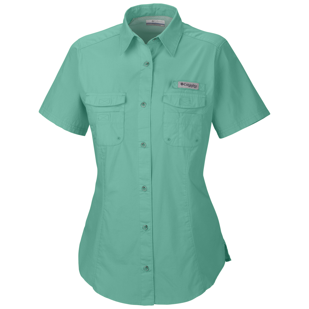Columbia women s bonehead short sleeve shirt for Columbia shirts womens pfg