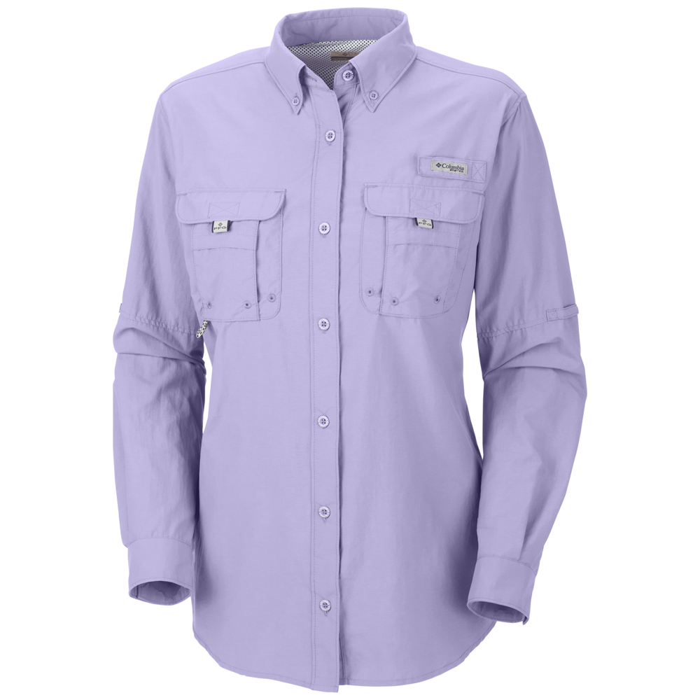 Columbia womens performance fishing gear bahama long Columbia womens fishing shirt