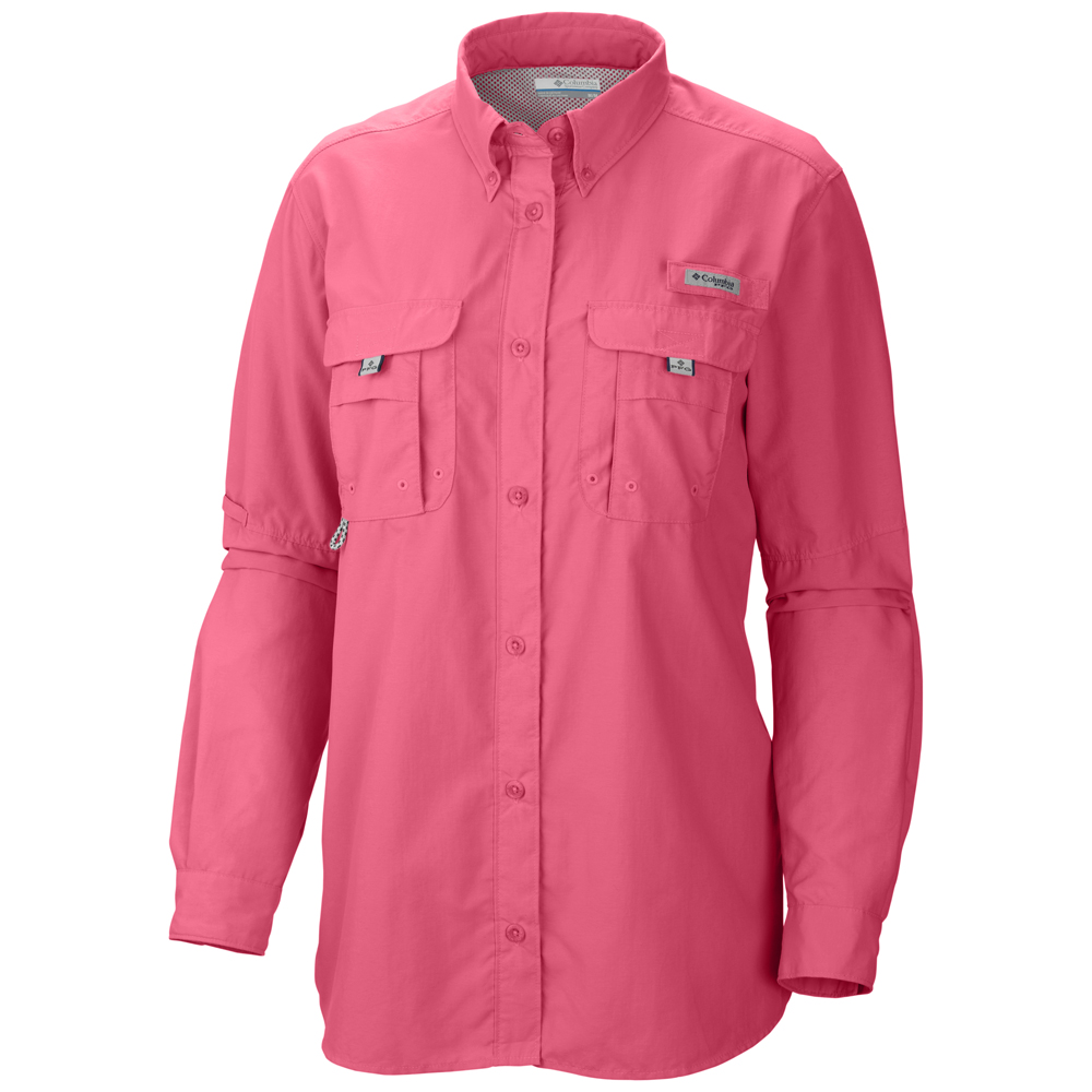 Columbia womens performance fishing gear bahama long for Columbia shirts womens pfg