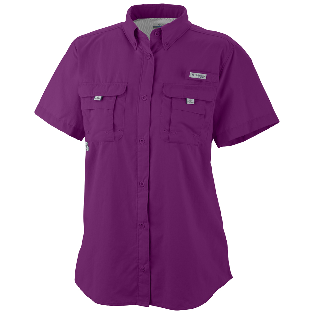 Women s bahama pfg short sleeve shirt extended sizes for What is a pfg shirt