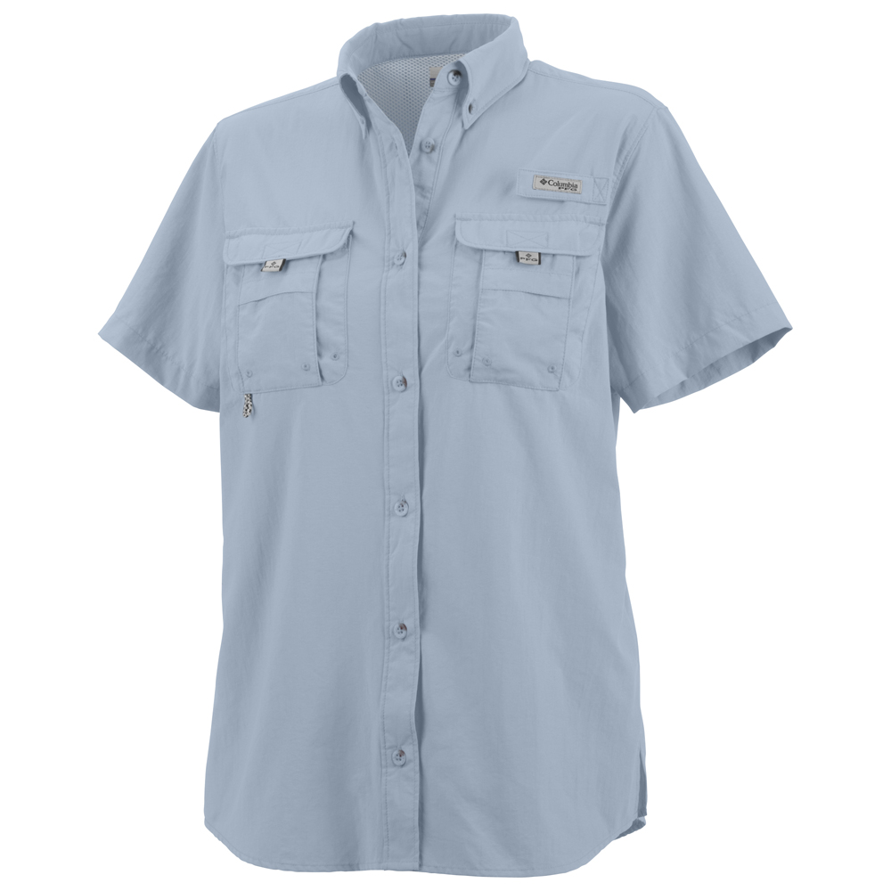 Women s bahama pfg short sleeve shirt extended sizes for Columbia shirts womens pfg