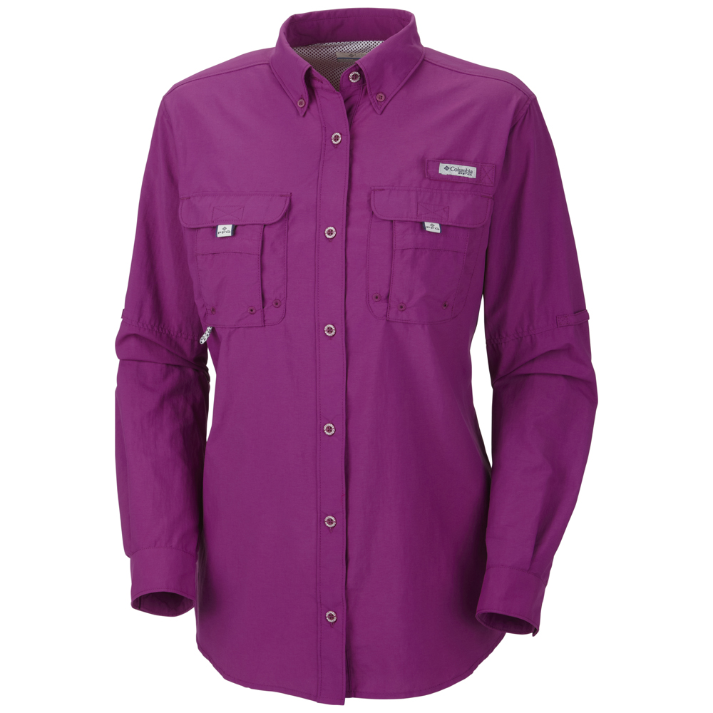 Columbia women 39 s bahama long sleeve shirt Columbia womens fishing shirt