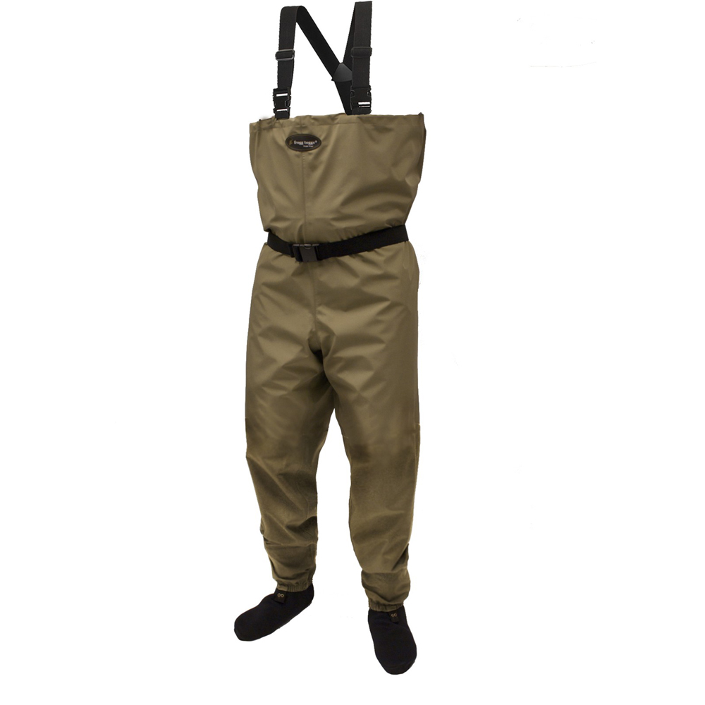 Frogg toggs men s canyon breathable chest waders for Men s fishing waders