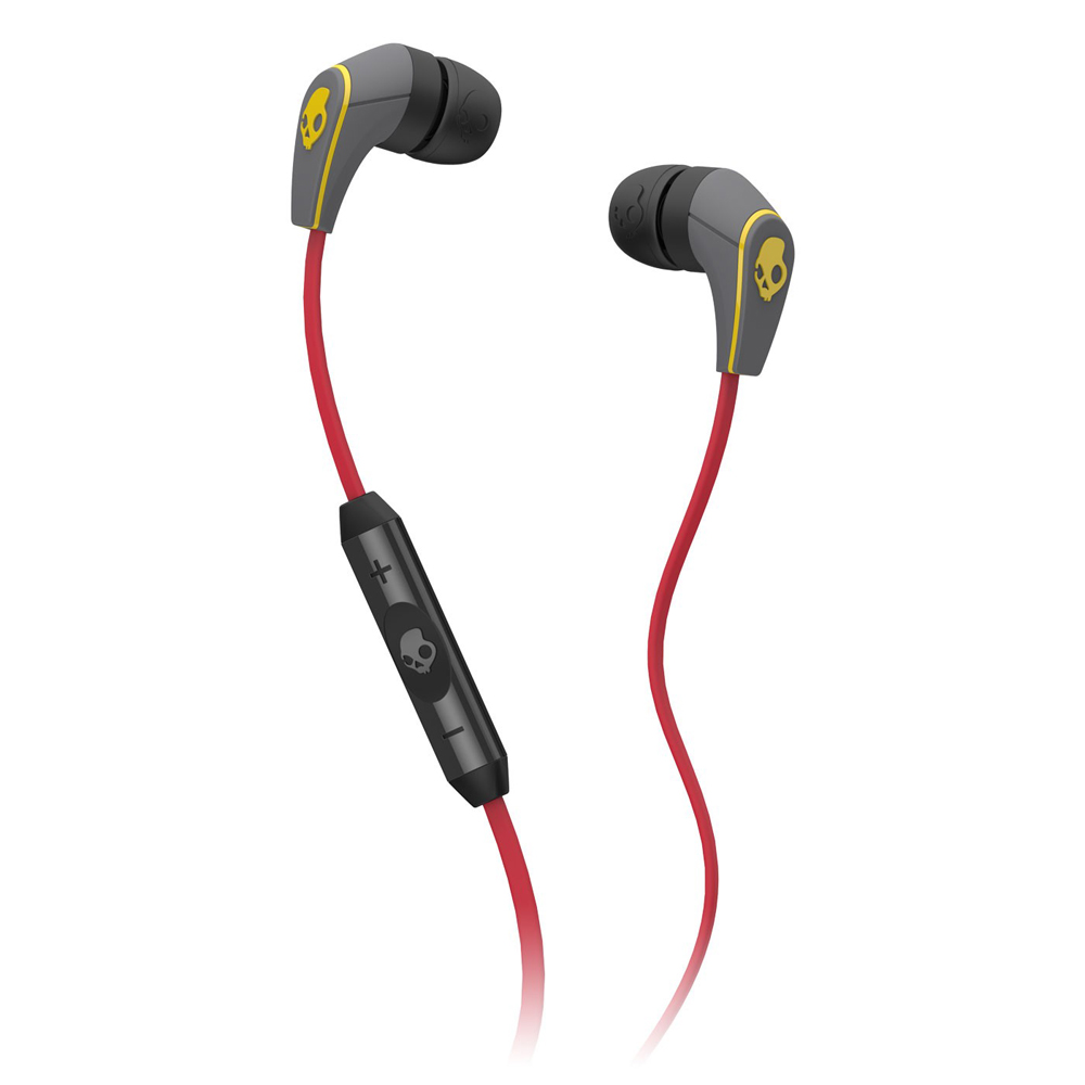 Earbuds skullcandy red - yellow skullcandy earbuds