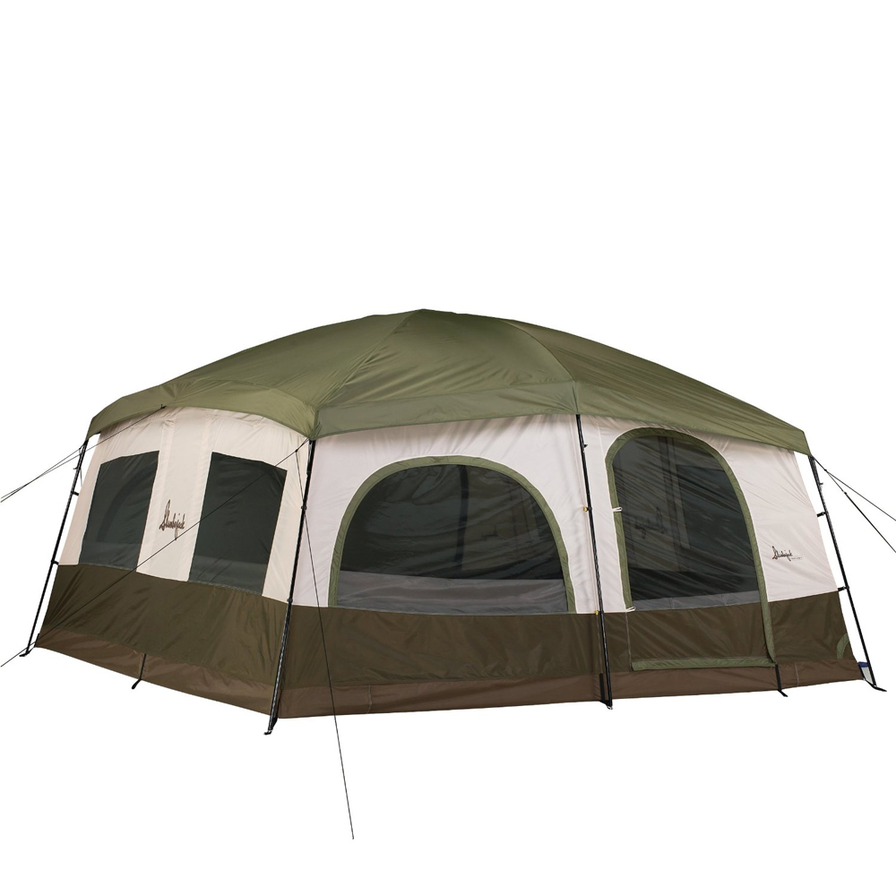 Slumberjack grand lodge 12 person tent for Small 3 room tent