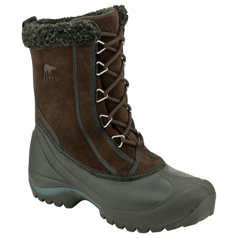 Womens Black Snow Boots - Cr Boot
