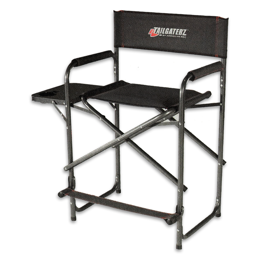 Tailgaterz Take Out Seat With Folding Side Table