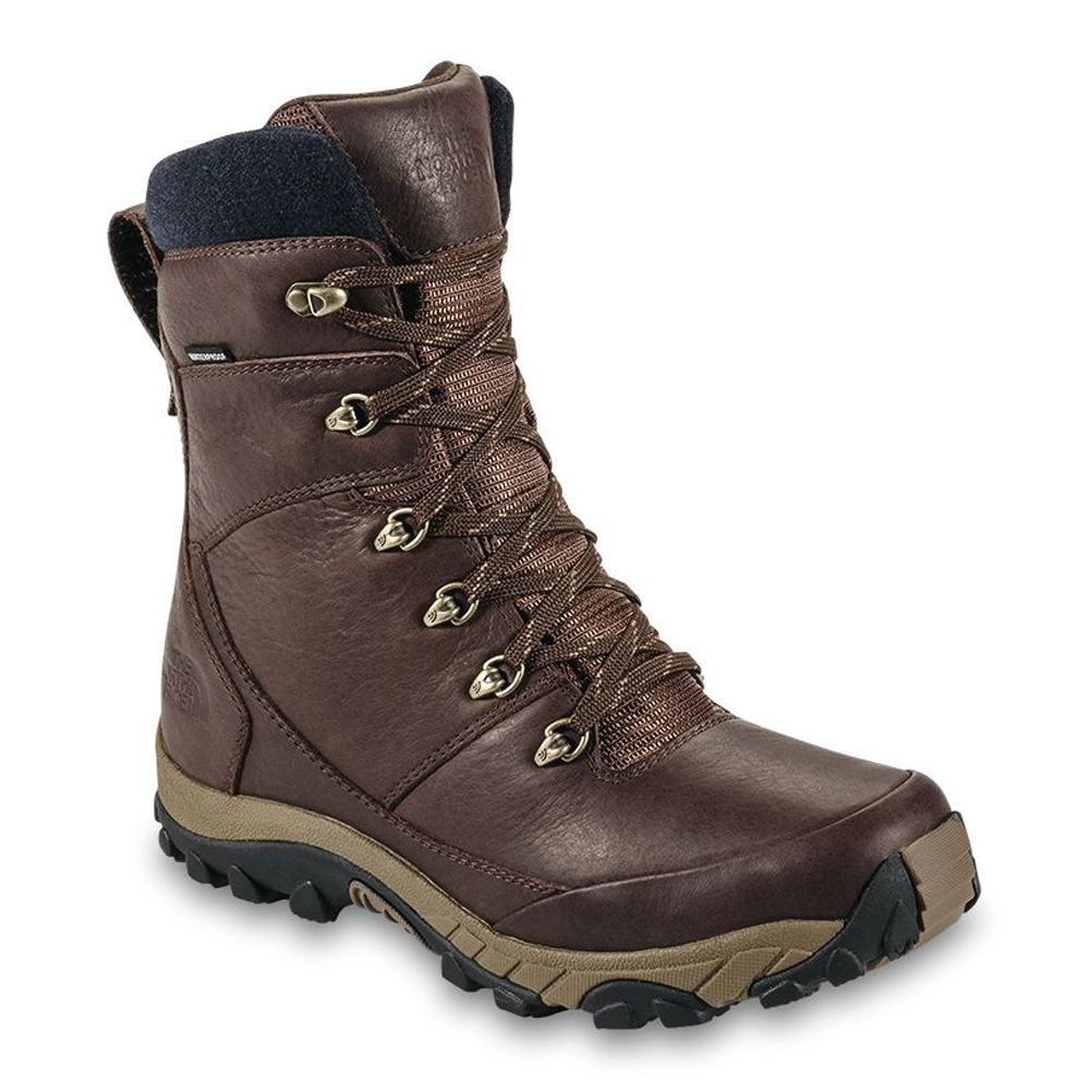 the mens chilkat leather insulated boots