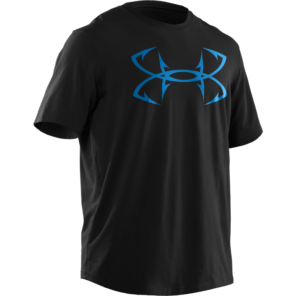 Under armour men s hook logo t shirt for Under armour fishing