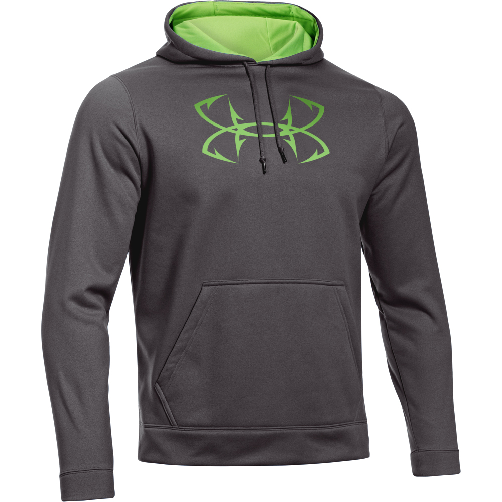 Under armour men s fish hook hoodie for Under armour fishing