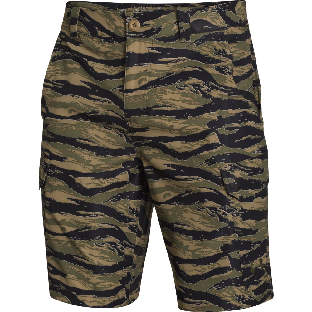 Under armour men s fish hunter cargo short for Under armour fishing
