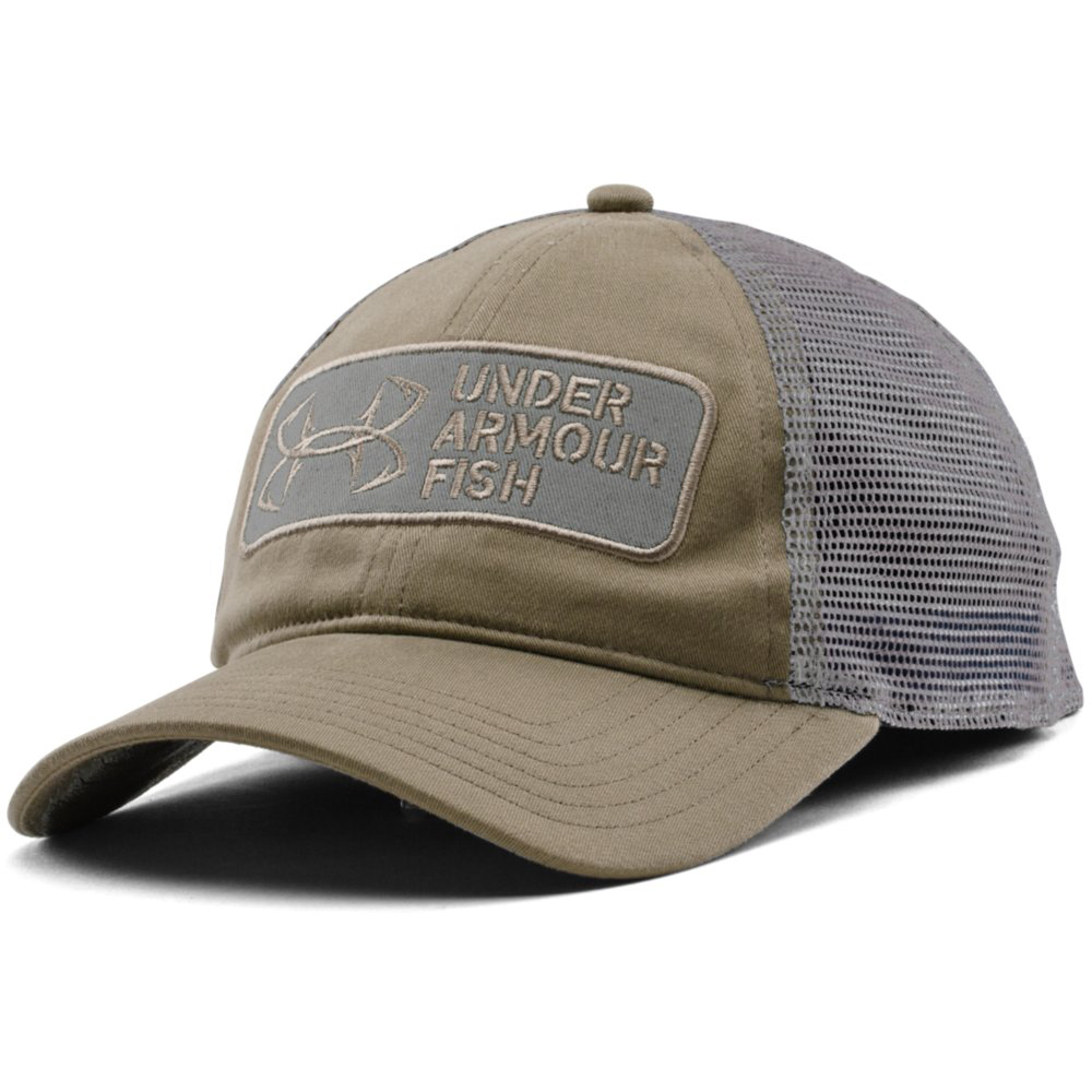 Under armour men s fish hook patch cap for Under armour fish hook
