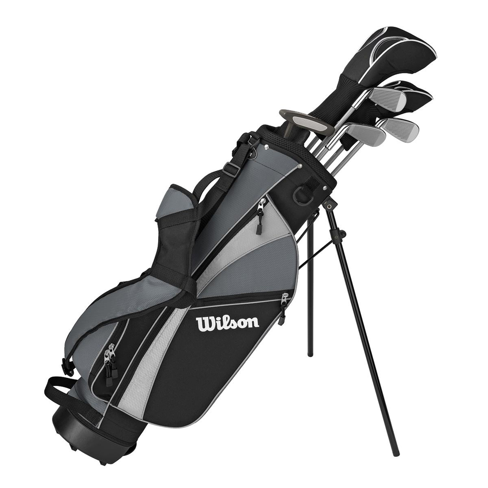 wilson youth profile junior ages8 11 9 piece golf set. Black Bedroom Furniture Sets. Home Design Ideas