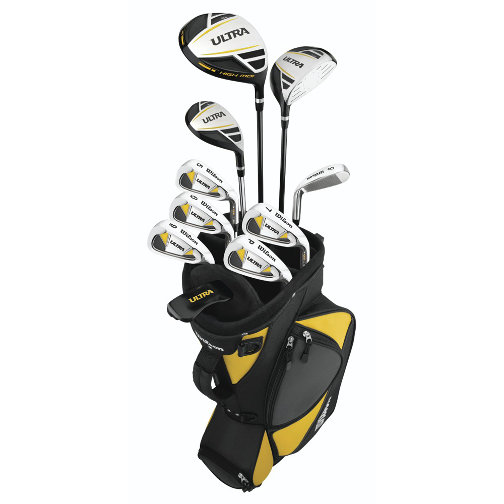 wilson mens ultra 11 piece golf set. Black Bedroom Furniture Sets. Home Design Ideas