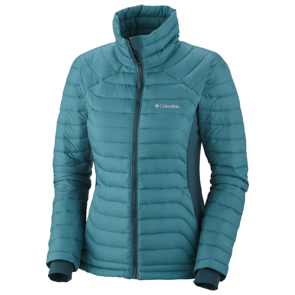 Columbia womens down jacket